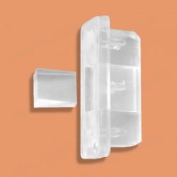 Zajištění pásky vytahování žaluzie - transparentní