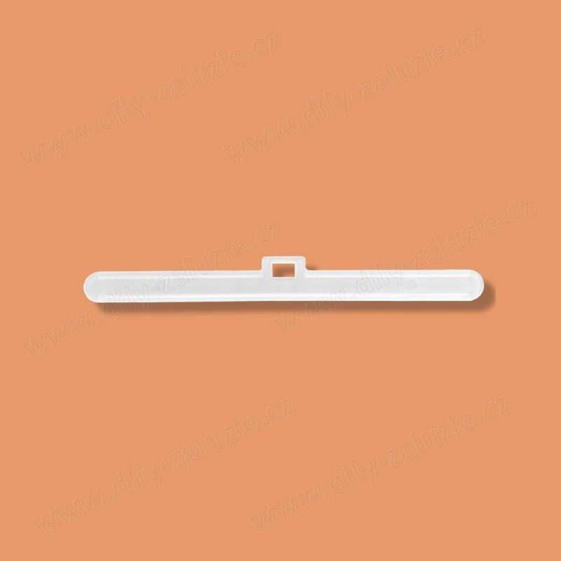 Ramínko látkových lamel vertikálních žaluzií pro látkové lamely šířky 89 mm