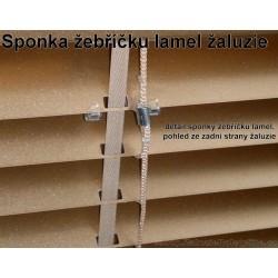 Žebříček pro standardní lamely horizontálních žaluzií