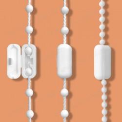 Spojka kuličkového provázku žaluzie - pro spojení ovládacích řetízků žaluzií a rolet