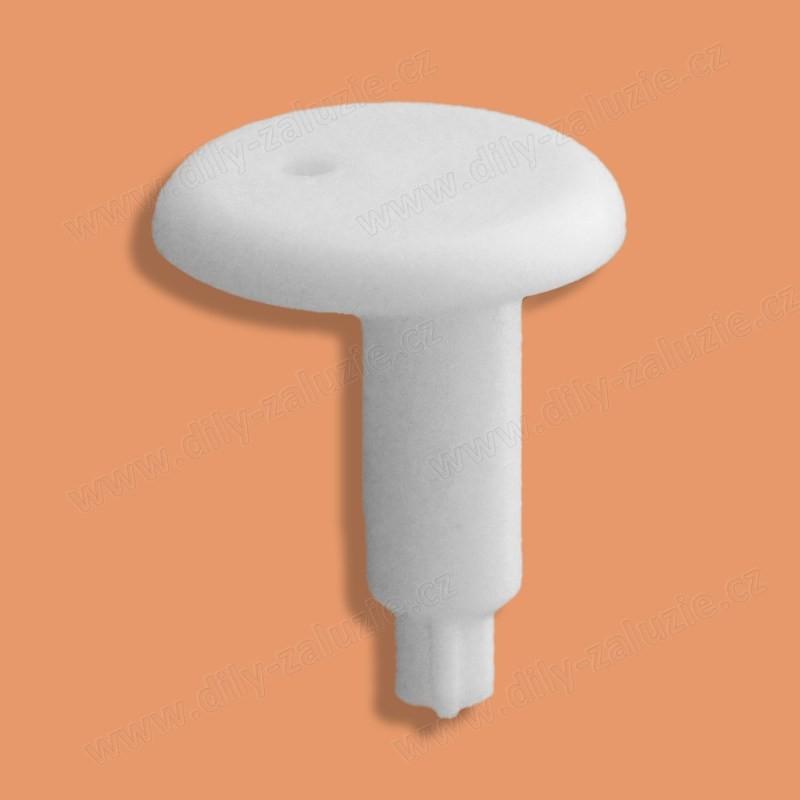 Kolíček pro uchycení vodícího silonu / struny lamel žaluzie