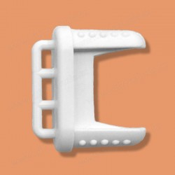 Koncovka spodního profilu žaluzie - typ koncovky C